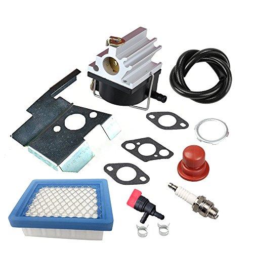 Panari 632671 Carburetor  Air Filter Spark Plug for Tecumseh 632671A 632671B 632671C VLV126 VLV60 VLV40 VLV50 VLV55 VLV65 VLV66 Toro Craftsman Lawn Mower