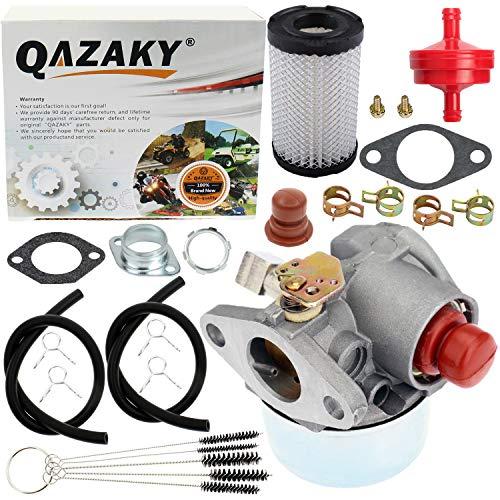 QAZAKY Carburetor Air Filter Replacement for Tecumseh 632795 632795A TVS75 TVS90 TVS100 TVS105 TVS115 TVS120 ECV100 TVXL90 TVXL105 TVXL115 LAV30 LAV35 LAV40 LAV50 TNT120 45HP 5HP Craftsman Lawnmower