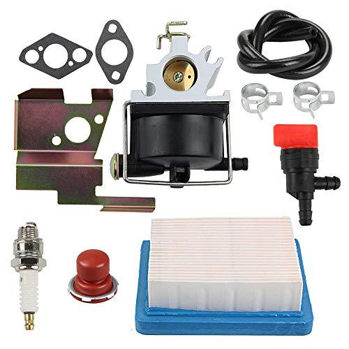 Yermax 632671 Carburetor  Air Fuel Filter Spark Plug for Tecumseh 632671A 632671B 632671C Toro Craftsman Lawn Mower