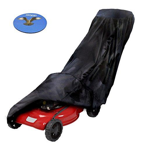 HQRP Push Lawn Mower Cover for Troy-Bilt TB120 TB220 TB230 TB330 TB380ES lawn mower plus HQRP Coaster