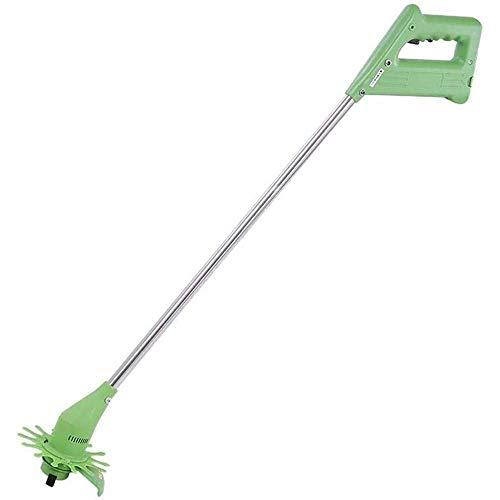 KJRJG Cordless Electric Lawn Mower Multi-Function Portable Pole Hedge Trimmer 13500 Speed Blade Design Garden Lawn Trimmer Diameter 120MM