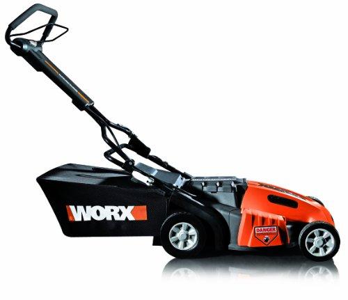 WORX WG788 36V 19 Cordless Electric Lawn Mower with IntelliCut