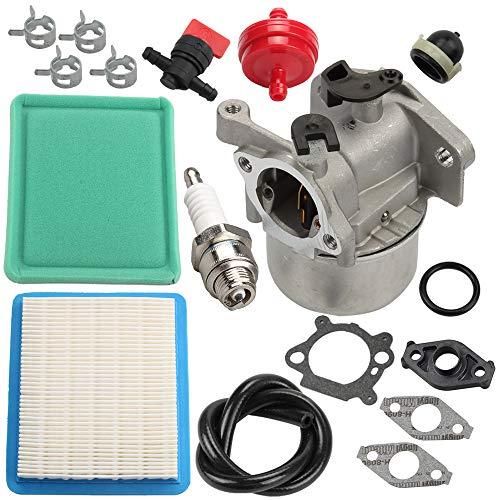 Butom Carburetor for Toro 20330 20331 20332 20333 20334 20092 20093 20095 20064 20065 20066 Recycler Lawn Mower wAir Filter Tune Up kit