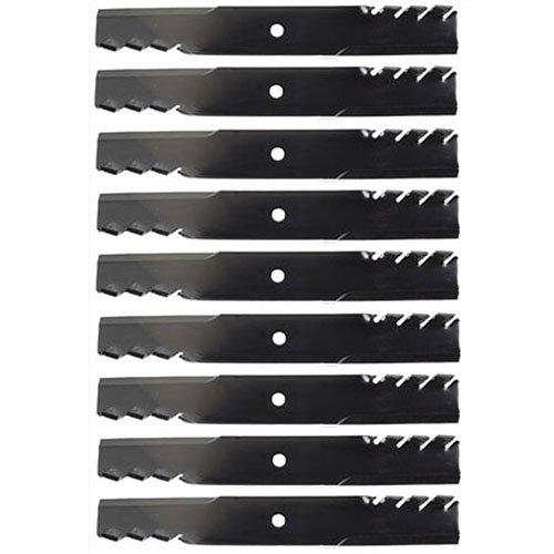 9 Pack Oregon Premium Replacement 18 x 2 ½ Mulching Lawn Mower Deck Blade  95-063 96-344 96-726 99-128