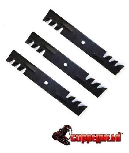 3 Pk Mulching Lawn Mower Blades fit Hustler 48 Raptor SD Fastrak 795757 6011