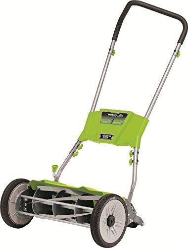 Earthwise 18-inch Quiet Cut Push Reel Lawn Mower Model 515-18