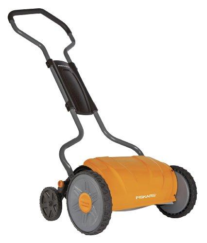 Fiskars 17 Inch Staysharp Push Reel Lawn Mower 6208