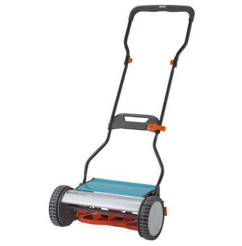 Gardena 4024 15-inch Silent Push Reel Lawn Mower With Folding Ergonomic Handle