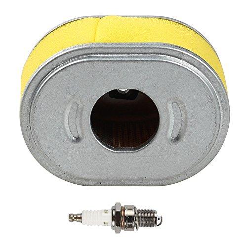 Harbot Air Filter Spark Plug for Honda 17210-ZE1-505 17210-ZE1-517 17210-ZE1-820 17210-ZE1-821 17210-ZE1-822 GX140 GX160 GX200 GX200 Lawnmover
