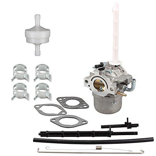 Harbot Carburetor Fuel FilterFuel Line Clamp for Briggs Stratton 796122 793161 696737 794593 20A113 20A114 20B414 20C114 20E114 20M107 20M114 20M212 20M214 Engine Lawn Mover Tractor Carb