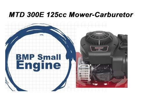 BMotorParts Carburetor for MTD Hyper Tough 125cc 45ft 300E Lawn Mower Briggs Stratton