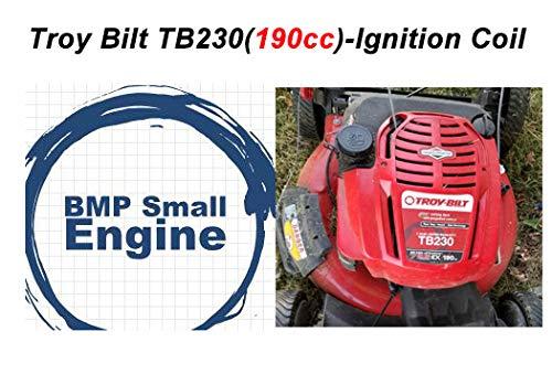 BMotorParts Ignition Coil Module for 190cc Troy bilt TB230 Lawn Mower wBriggs Stratton