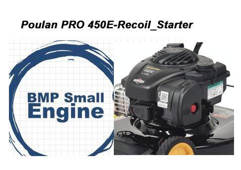 BMotorParts Recoil Pull Starter for 125cc Poulan Pro 450E Lawn Mower Briggs Stratton