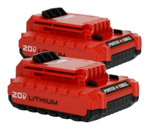 Porter-cable Pcc680l 20-volt Lithium Ion Battery 2-pack