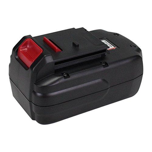 Topbatt 18V 3000mAh Ni-MH Replacement Battery for Porter Cable PC18B PCC489N PCMVC PCXMVC