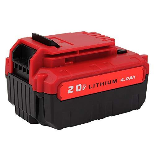 VANON 40Ah 20V Max Li-ion Rechargeable Replacement Battery for Porter Cable PCC685L PCC680L PCC682L PCC685LP 1 Pack
