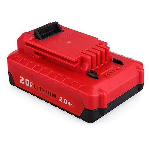 VANON PCC680L for Porter Cable 20V Battery 20Ah Lithium-ion Battery for Porter Cable PCC685L PCC682L PCC685LP PCC600 PCC640
