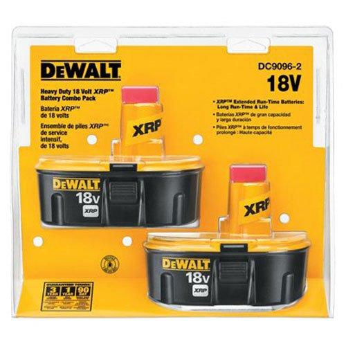DEWALT 18V Battery XRP Combo Pack DC9096-2