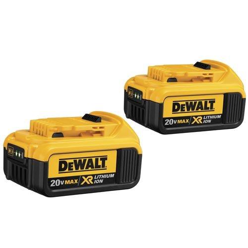 DEWALT 20V MAX XR Battery 40-Ah 2-Pack DCB204-2