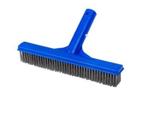 10&quot Swimming Pool Algae Brush Plastic Frame Stainless Steel Bristles 10 Inch
