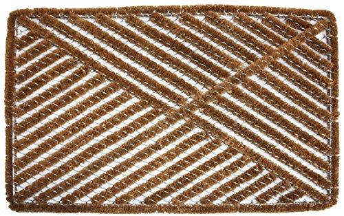 Jamp M Home Fashions Coir Boot Scraper Doormat 24&quot X 36&quot