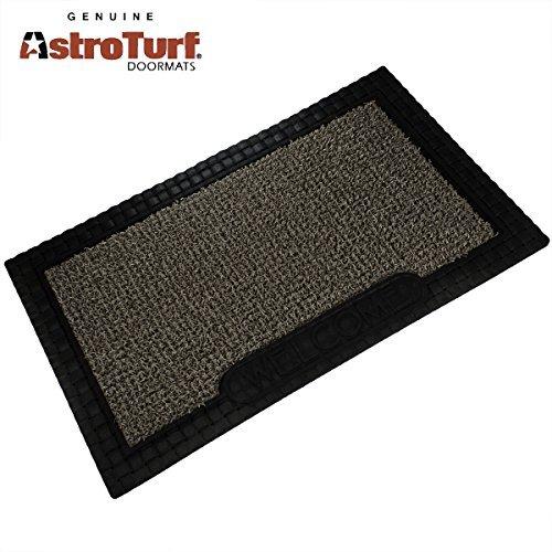 Clean Machine AstroTurf Doormat Welcome Mat French Country 18x30 Shoe Scraper