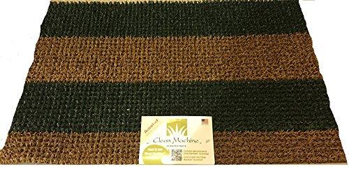 Clean Machine Astroturf Doormat Mat Durascrape 18&quotx30&quot Shoe Scraper greenbrown