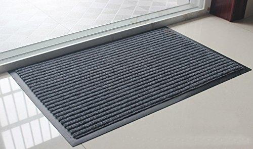 Fasmov Entrance Rug Floor Mats Shoe Scraper Doormat20&rdquox315&rdquogray
