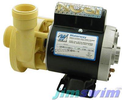 Waterway 1 Speed 0125 Hp 115v Spa Pump 3410030-1e