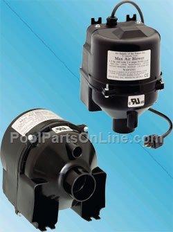 Air Supply 2510220 Max Air 10 hp 24 amp Portable Spa Blower 240V