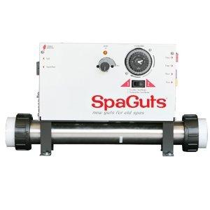 SpaGuts Controller Kit Dual Pump Air Buttons and Cord 55KW CS-6000-U2-WP