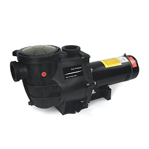 2HP Ingound Pool Pump 220110 Dual Volt 1 Phase