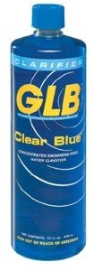 Glb Poolamp Spa Products 71404 1-quart Clear Blue Pool Water Clarifier