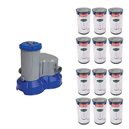 Bestway Pool Filter Pump  Filter Replacement Cartridge Type IVB 12 Pack
