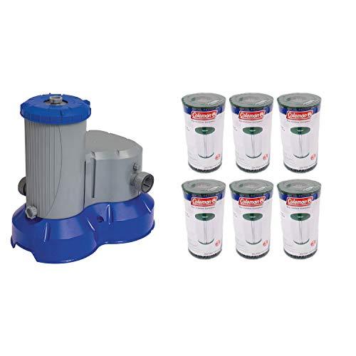 Bestway Pool Filter Pump  Filter Replacement Cartridge Type IVB 6 Pack