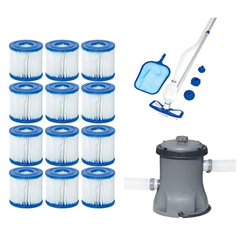 Bestway Type VIID Filter Cartridges  Pool Cleaning Kit  Pool Filter Pump