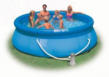 Intex 12 X 36&quot Easy Set Swimming Pool Set W Filter Pump  28145eg 56931eg