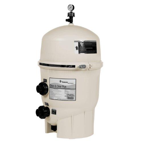 Pentair 160340 Clean & Clear Plus Fiberglass Reinforced Polypropylene Tank Cartridge Pool Filter, 320 Square Feet