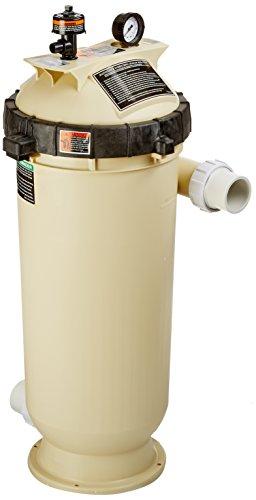Pentair 160354 Cleanamp Clear Rp Fiberglass Reinforced Polypropylene Tank Cartridge Pool Filter 100 Square Feet