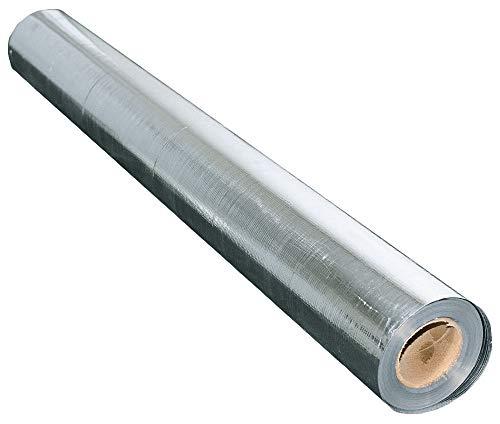 US Energy Products 1000 sqft No Tear Solid Radiant Barrier 48x250 Reflective Aluminum Vapor Barrier Sauna Jacuzzi Flooring Grow Room Basement Foil Insulation BLOCKs 99 Heat RIFD Signals Waterproof