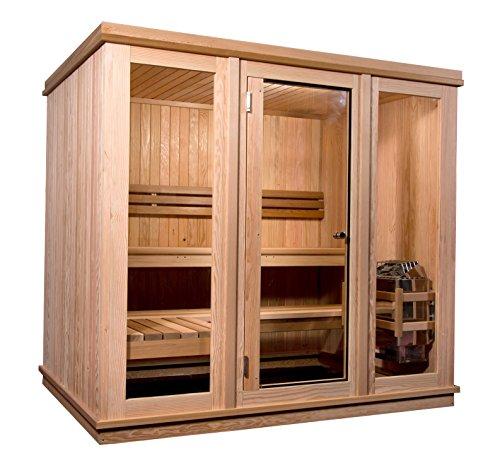 Almost Heaven Saunas 6-person Bridgeport Indoor Sauna