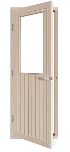 Aspen Sauna Door With Bronze Glass left Hand Hinge