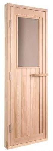 Cedar Sauna Door With Bronze Glass left Hand Hinge