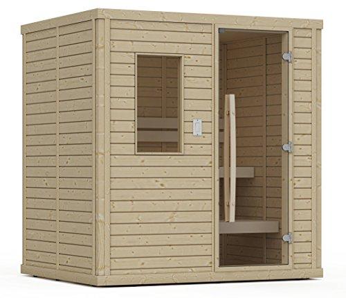 Goldstar 1250 Prebuilt Traditional Sauna