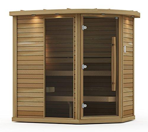 Goldstar 1500 Prebuilt Traditional Sauna