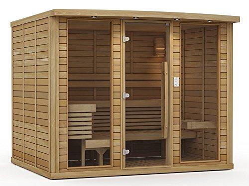 Goldstar 2500 Prebuilt Traditional Sauna w Harvia Cilindro 7kw