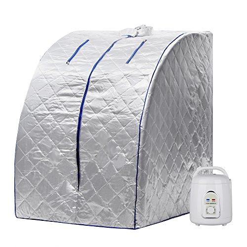 Gracelove Portable Therapeutic Personal Folding Home Steam Sauna