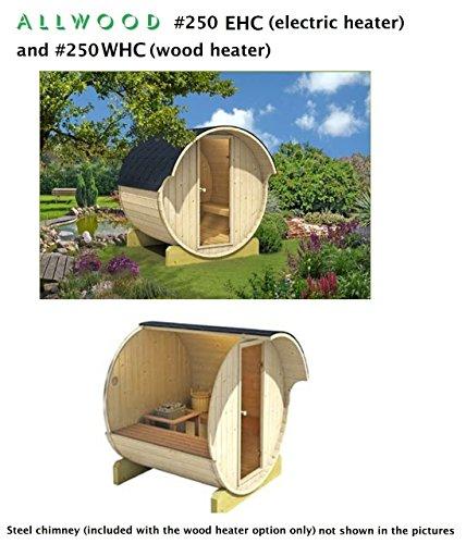 Allwood Barrel Sauna 250-ehc  Electric Heater