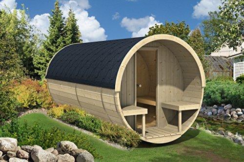 Allwood Barrel Sauna 400-WHP WOOD HEATER
