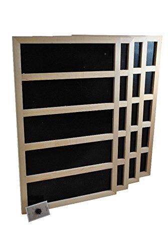 Infrared Sauna Heater Package With Mechanical Timer - 1200 WATT-240VAC